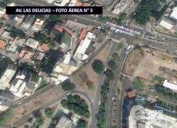 Vista área de la av. Las Delicias. Foto Garaldem Maracay.