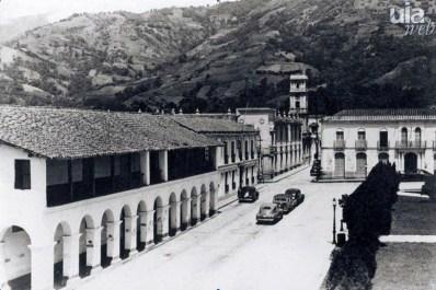 Vista de la Casa Rosada, a principios del siglo XX. Foto ULA, dig. Frank Gavidia.