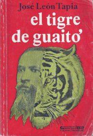 """""""El tigre de Guaitó"""", 1982. Digitalización Marinela Araque."""