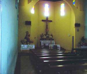 Nave central y altar de la iglesia San Francisco de Asís. Foto IPC.