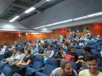Auditorio en las instalaciones del Jardín Botánico de Maracaibo.