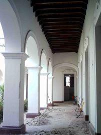 Levantamiento de los pisos del palacio del marqués de Pumar. Año 2006. Archivo Cronista