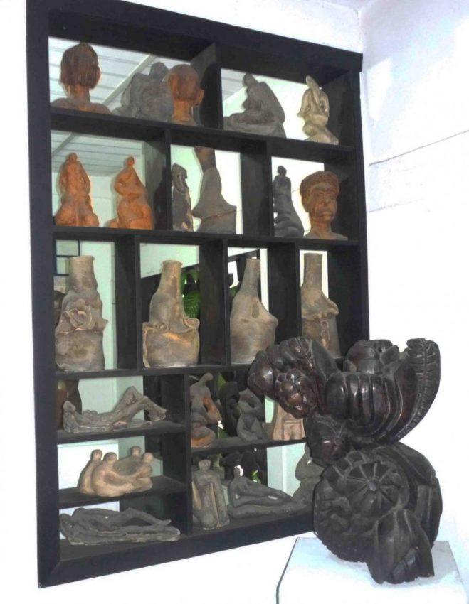 Mobiliario y objetos del MAVHA. Foto M. Araque.