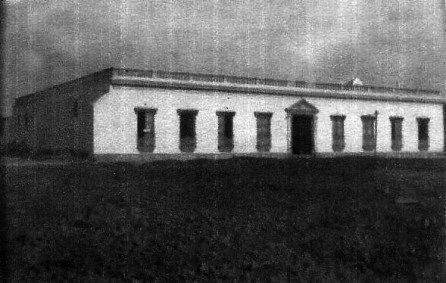 Fachada del imponente palacio del marqués, tras su reconstrucción en 1940. Foto archivo Cronista oficial, dig. Marinela Araque.