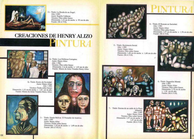 PINTURA. 2 HENRY ALIZO.