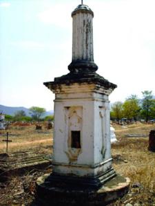 La mayoría de las tumbas son coronadas por monumentos. Foto IPC.