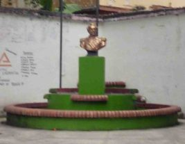 Vista frontal del monumento a Páez. Foto Marinela Araque, 2017.
