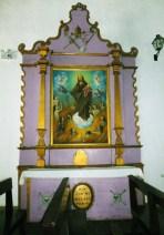 Altar de las Ánimas, mobiliario inventariado en 1738 en la iglesia San Nicolás de Bari. Municipio Obispos del estado Barinas, Venezuela.