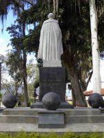 Cara posterior del monumento al Gran Mariscal de Ayacucho. Foto Samuel Hurtado Camargo, 28 de mayo de 2017