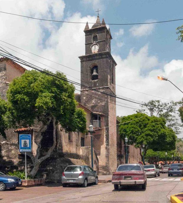Desde junio está restringido el tránsito en las calles contiguas a la catedral de La Asunción, en Nueva Esparta.