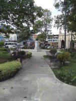 Costado norte de la Plaza Rangel, 7 de mayo de 2017. Foto Samuel Hurtado Camargo
