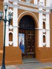 Detalle de la puerta de la catedral Nuestra Señora del Pilar, Barinas. Foto Marinela Araque, 2017.