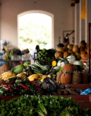 Productos del mercado de Capacho, municipio Independencia, estado Táchira.