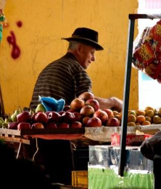 El mercado de Capacho es el corazón comercial del municipio Independencia. Estado Táchira, Venezuela