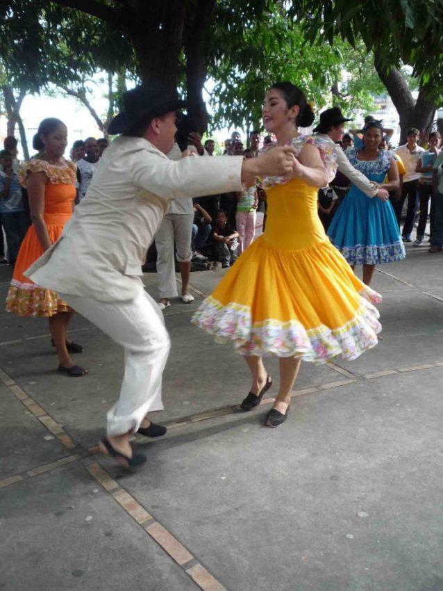 Eventos culturales en la plaza José Félix Ribas, Barinas