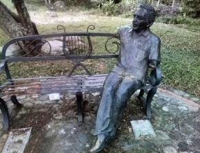 La escultura fue mutilada en junio de 2017