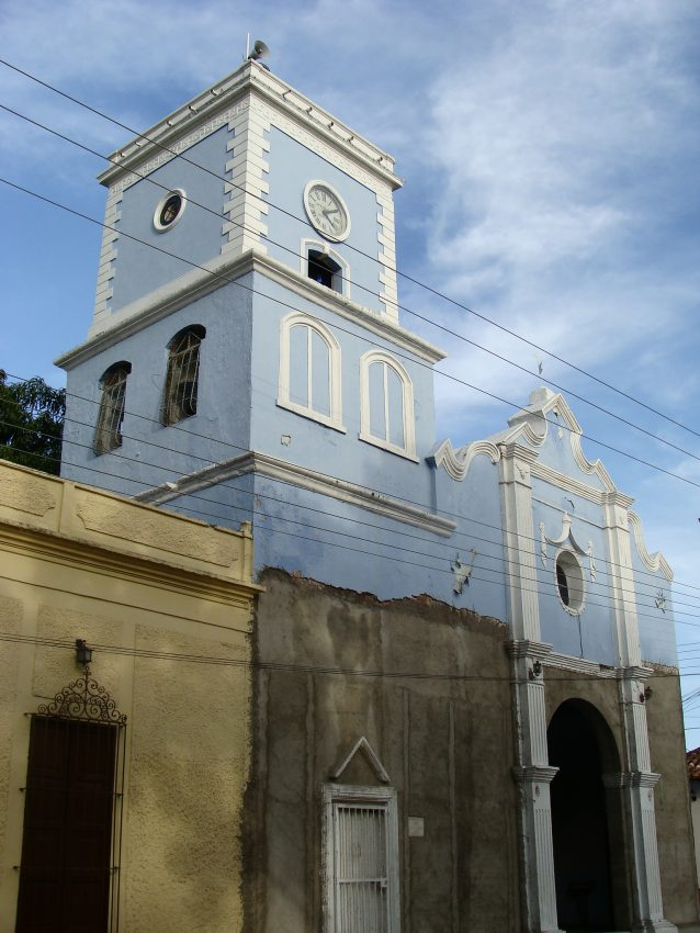 Iglesia de San Sebastián Mártir. Foto Fev Creative Commons, 2008.