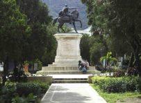 Otra vista del lateral derecho del monumento a Bolívar. Foto Samuel Hurtado Camargo, 28 de mayo de 2017