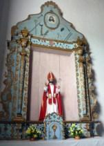 Retablo de San Nicolás de Bari en la iglesia homónima. Municipio Obispos del estado Barinas.