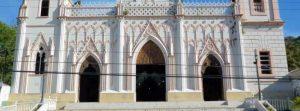 Zócalo que unifica las tres naves de la iglesia San Pedro Apóstol, de Capacho Nuevo., municipio Independencia del estado Táchira. Venezuela