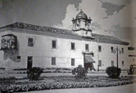 Antigua cárcel Real en la década de los 50. Casco histórico de Barinas. Patrimonio cultural de Venezuela.