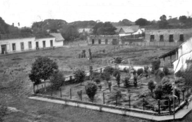 Antiguo centro histórico de Barinas. Archivo Oficina cronista Barinas, en 1906. Venezuela.