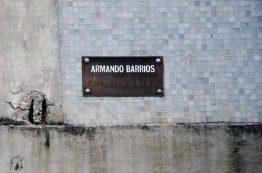 Detalle del mural de Armando Barrios, en la plaza del rectorado de la UCV. Ciudad universitaria de Caracas, declarada Patrimonio de la Humanidad en el año 2000 por la UNESCO. Venezuela.