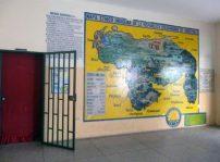 Área administrativa del Grupo Escolar Estado Guárico, monumento histórico nacional de Venezuela, en el estado Barinas.