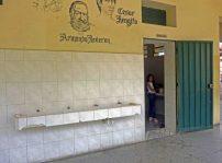 Área de servicios del Grupo Escolar Estado Guárico, ubicada en el área lateral derecha del Grupo Escolar Estado Guárico, monumento histórico municipal de Venezuela, en el estado Barinas.