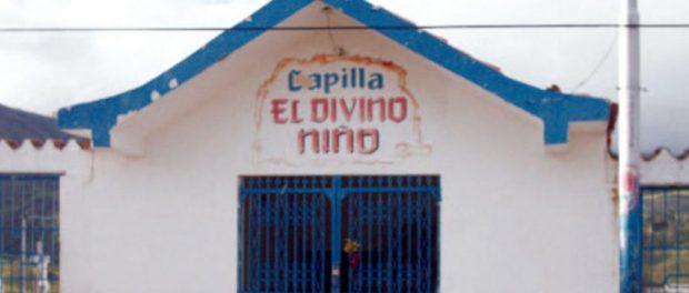 Capilla El Divino Niño, recinto que fortalece las tradiciones navideñas de Capacho,estado Táchira. Venezuela.