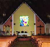 Altar de la capilla Nuestra Señora del Perpetuo Socorro, en El Vigía, estado Mérida.