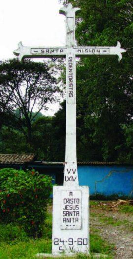 Cruz de la Misión, en Bermúdez, parroquia de Capacho Viejo. Foto IPC, 2007.