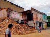 Casco histórico de Ciudad Bolívar, Venezuela. Patrimonio cultural en riesgo.