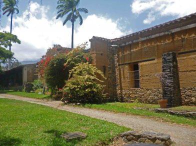 Lateral del Museo Trapiche de Los Clavo. Patrimonio cultural de Boconó, estado Trujillo, Venezuela.