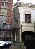 Estatua del Rector Heróco. Patrimonio de Mérida, Venezuela.