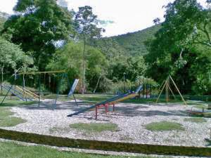 Parque Rómulo Gallegos, tras su restauración de 2009. Patrimonio cultural de Trujillo, Venezuela.