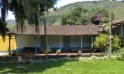 Vieja casa andina del Museo Trapiche de los Clavo. Patrimonio cultural de Boconó, estado Trujillo. Venezuela.