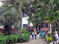 Plaza Las Heroínas, en la ciudad de Mérida. Patrimonio cultural venezolano.