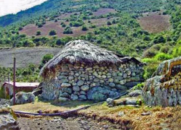 Casa prehispánica de Gavidia, en el páramo merideño. Patrimonio cultural de Venezuela.