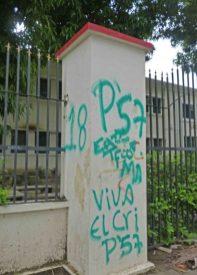 El vandalismo atenta contra una edificación histórica de Barinas. Patrimonio histórico de la ciudad de Barinas, estado Barinas, en peligro. Venezuela.
