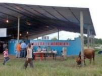 La concurrencia en la gallera, Santa Fe de Aguasay.Patrimonio cultural de Venezuela.