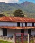 Vista de los dos pisos de Hacienda Boquerón, en Monagas. Patrimonio histórico de Monagas, Venezuela.