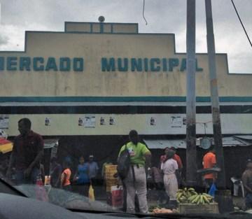 Mercado Municipal de Caripito, estado Monagas. Patrimonio cultural de Venezuela.