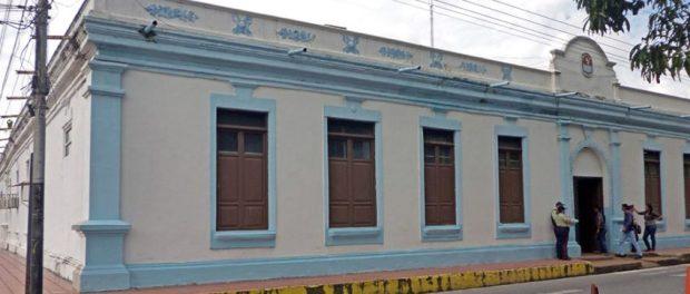Palacio Municipal o actual sede de la alcaldía de Barinas. Patrimonio arquitectónico del estado Barinas, Venezuela.