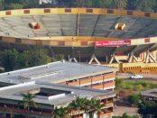 Plaza de Toros Román Eduardo Sandia Briceño. Patrimonio cultural del estado Mérida, Venezuela.