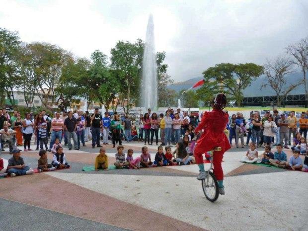 Patrimonio cultural de Mérida, Venezuela. Parque Las Heroínas.