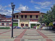 Zona norte o de recreación de la plaza Rivas Dávila.