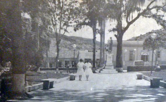Plaza Bolívar de Boconó, estado Trujillo. Patrimonio cultural de Venezuela.