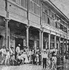 La antigua Casa Blohm, en el casco histórico de Ciudad Bolívar. Patrimonio cultural venezolano en peligro.