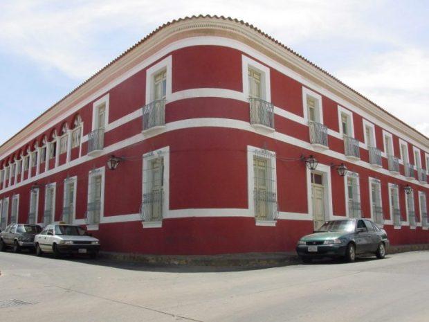 Casa de las 100 ventanas. Casco histórico de Coro, estado Falcón, Venezuela.